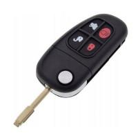 Выкидной ключ JAGUAR S-type, X-type, XJS | 2001-2008 | 433 MHz | с чипом
