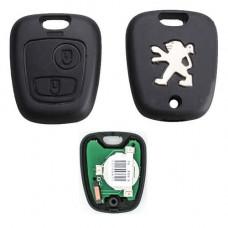 Ключ PEUGEOT 207, 208, 2008, 306, 307, 308 | 1998-н.в. | корпус для замены