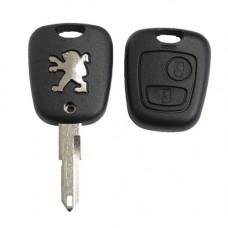 Ключ PEUGEOT 206, 207, 307 | 2001-2008 | с чипом
