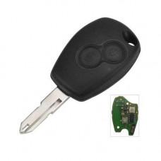Ключ RENAULT Duster, Logan, Sandero 2009-2019 | HU136 | 2 кнопки