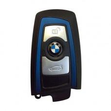 Смарт ключ BMW 2009-2015   PCF7953   F серия   434 MHz   Keyless Go   Blue   ОРИГИНАЛ