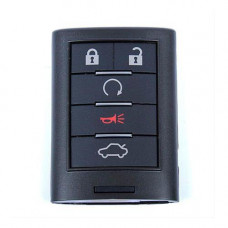 Смарт ключ CADILLAC STS, CTS   2008-   PCF7952   5 кнопок   оригинал