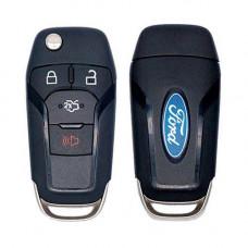 Выкидной ключ FORD Focus, Mondeo, Galaxy, C-max, Fiesta | 2006-2012 | с чипом | ОРИГИНАЛ