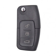 Выкидной ключ FORD Focus, Mondeo, Galaxy, C-max, Fiesta | с чипом | 2006-2012