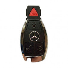 "Ключ MERCEDES 2000-2014 | 4 кнопки | хромированная ""рыбка"" | ROM08 | 315 MHz"