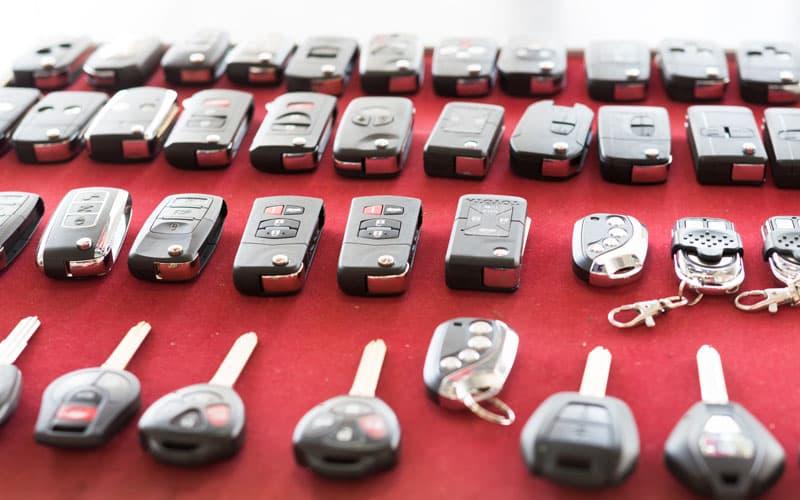 ключи и брелоки для авто