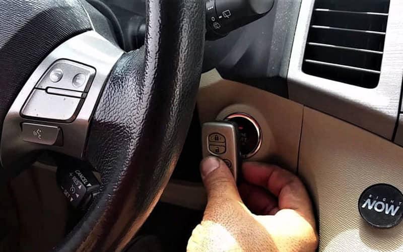 бесконтактный доступ в авто